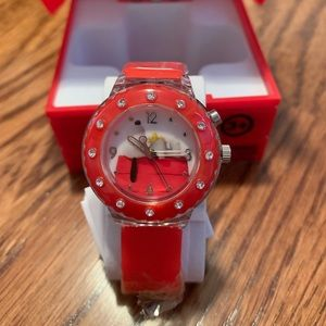 Peanuts snoopy watch with box